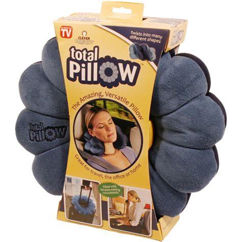 Infomercial Pillow Seen Tv total lumbar support travel pillow walmart