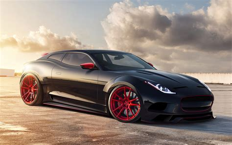 imagenes de carro jaguar x type 바탕 화면 다운로드 2560x1600 재규어 x c16 블랙 컨셉 카 hd 배경