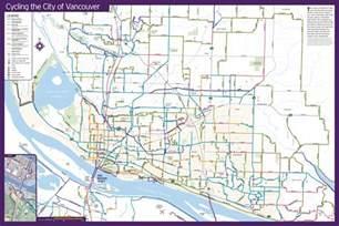 Bike Map Vancouver Bike Map Mapsof Net