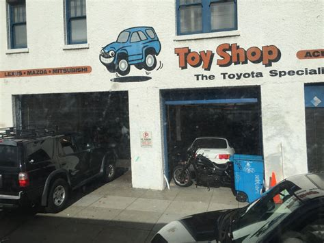 toy shop  reviews auto repair  geary blvd