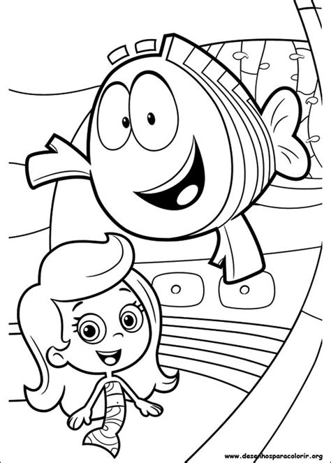 bubble guppies coloring pages nick jr free coloring pages of bubble guppies nick jr