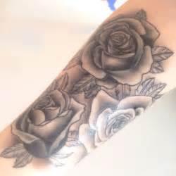 open rose tattoos best 25 on forearm ideas on
