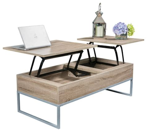 Desk Coffee Table by Ditmar Brown Lift Top Storage Coffee Table