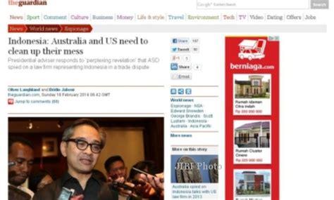 Bio Di Guardian Indonesia penyadapan australia menlu ri pertanyakan penyadapan