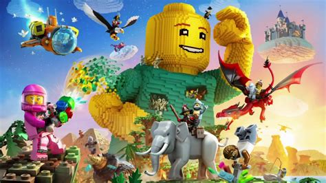 lego worlds ps4 xbox one nintendo switch codes tips guide unofficial books lego worlds review an wide but a puddle