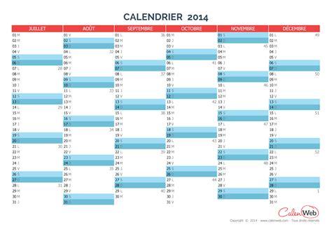 calendrier semestriel annee  planning semestriel vierge calenwebcom