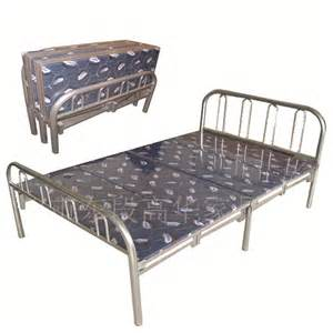 Folding C Bed Home Source Metal Folding Bed By Oj Commerce Butterfly 163 99