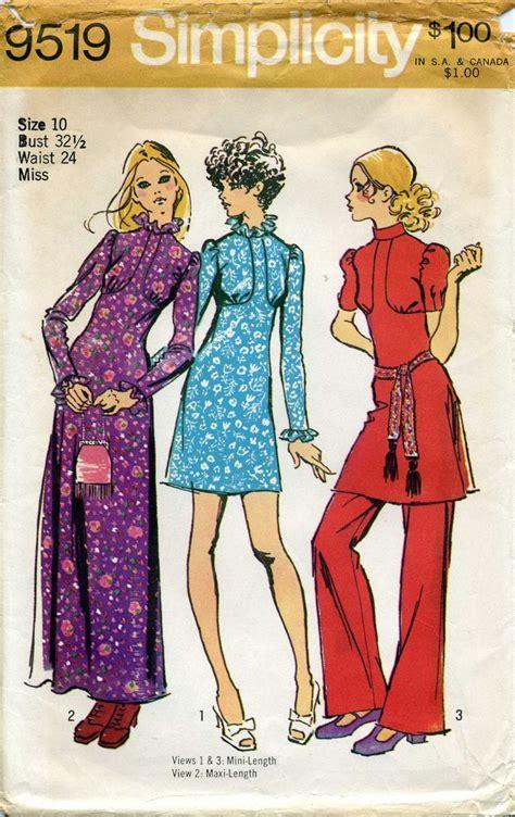 vintage pattern simplicity 28 best 1970 s patterns images on pinterest vintage