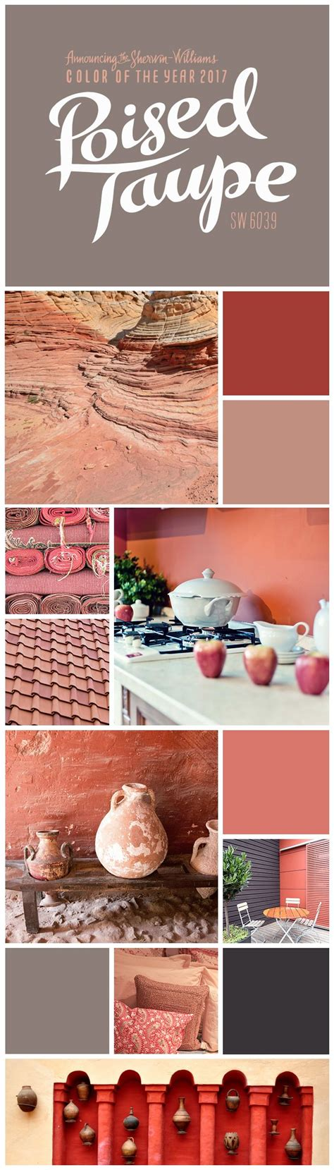 poised taupe color schemes 102 best images about paint color of the year on pinterest