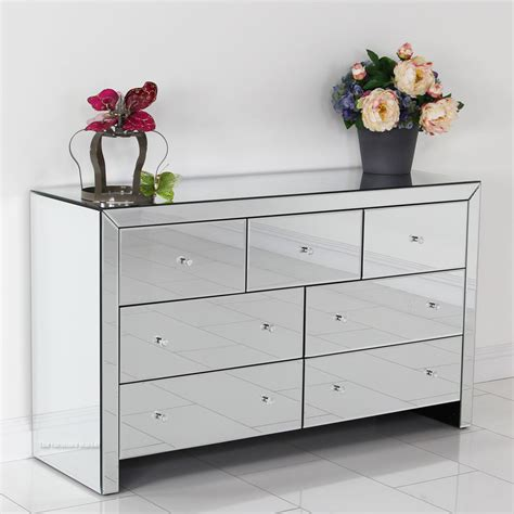 Mirror Chester Drawers Furniture by News Mirror Chest Of Drawers On Venetian Mirrored 7 Drawer