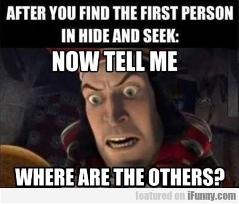 Vcd Original Hide And Seek after you find the person in hide and seek