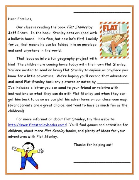 flat stanley letter template pin by jaime dibling zollman on education