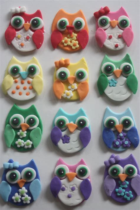 owl toppers foodista these owl cupcake toppers are a hoot