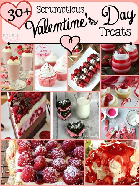 Valentines Day Treats by 30 Scrumptious S Day Treats The Batch