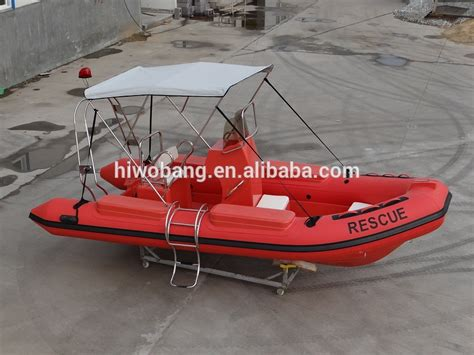 dinghy rescue boat 520cm fiberglass hull rescue boat yacht dinghy inflatable