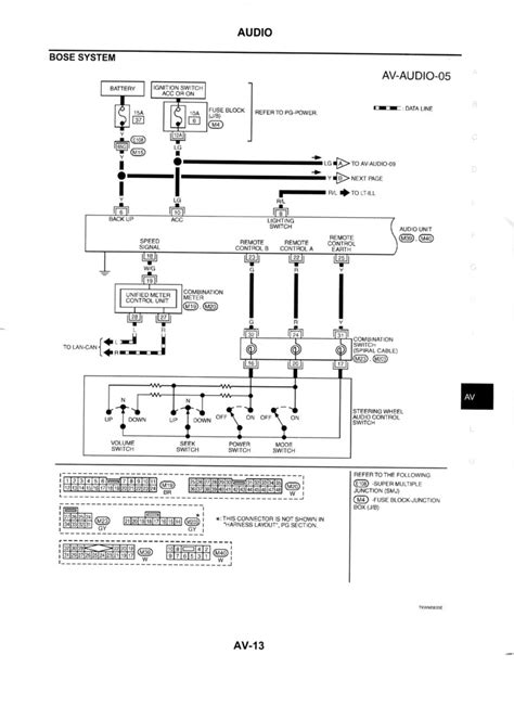 bose wiring diagram gdriver infiniti   forum discussion