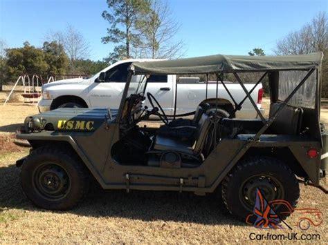 m151a1 jeep 1964 m151a1 military jeep