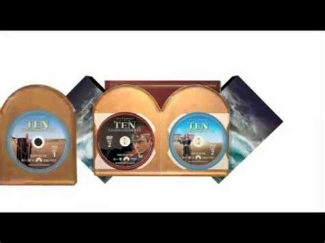 The Ten Commandments Gift Set the ten commandments limited edition gift set dvdblu combo