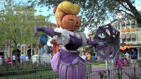 disney world decorations at magic kingdom theme park