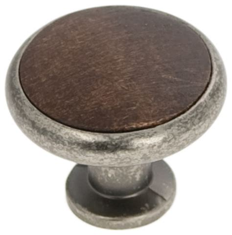 Wood Cabinet Handles And Knobs by Tranquility Cabinet Knob Black Nickel Vibed With