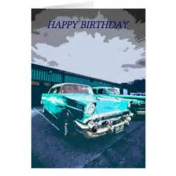 classic car birthday cards classic car birthday card templates postage invitations