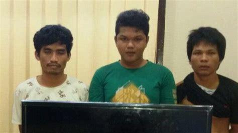 Kasur Palembang Pl 2x15m tiga pemuda bobol rumah dinas kasi pidsus dan kasi intel kejari rohul tribunnews