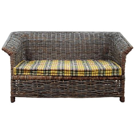 Woven Sofa by Italian Outdoor Woven Sofa For Sale At 1stdibs