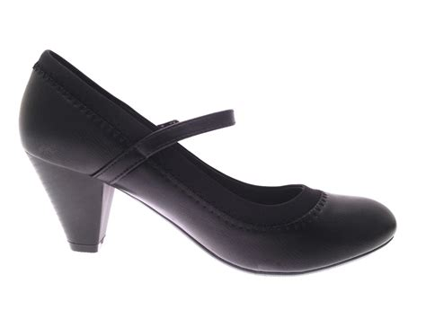 comfortable everyday heels womens mary jane comfort shoes low heel casual work court