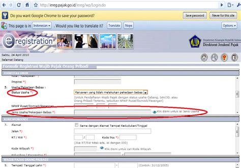buat npwp pribadi secara online daftar npwp pribadi online mejor conjunto de frases