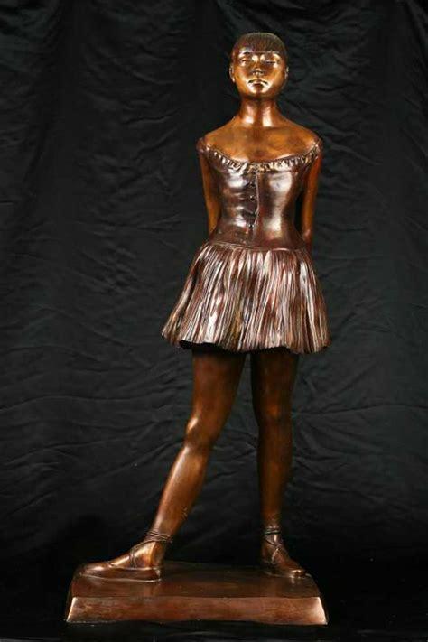 ft bronze degas ballerina girl statue figurine