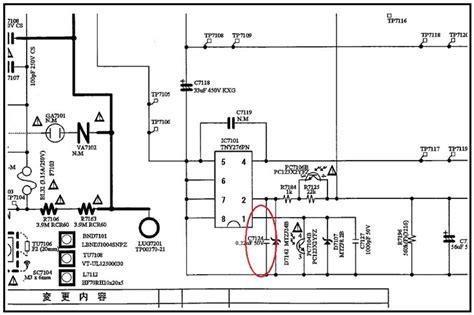 sharp lcd tv  power electronics repair  technology news
