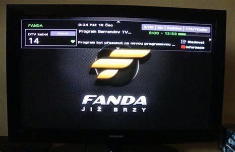 Fanda Set 1 jak 253 byl rok 2012 pro digit 225 ln 237 kabelovou televizi dvb c a