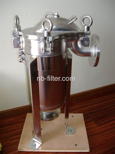 Supplier Realpict Flow Top By Rinaya stainless steel top flow single bag filtration manufacturers and suppliers in china