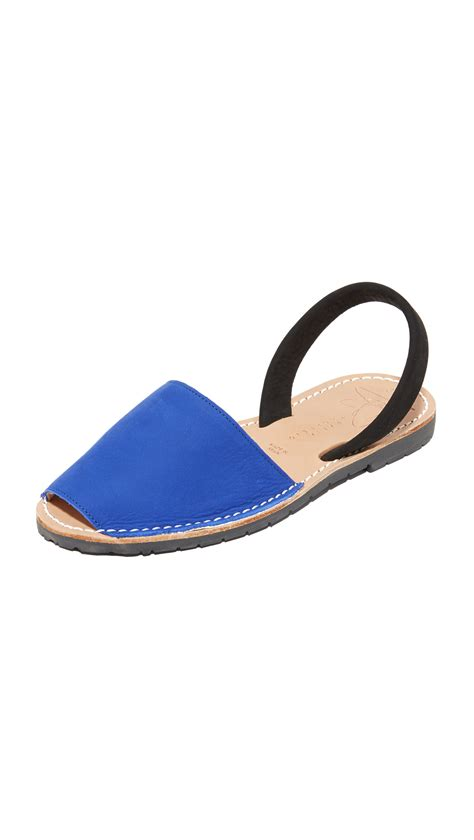 zero shoes sandals zero cornejo ita sandals in blue lyst