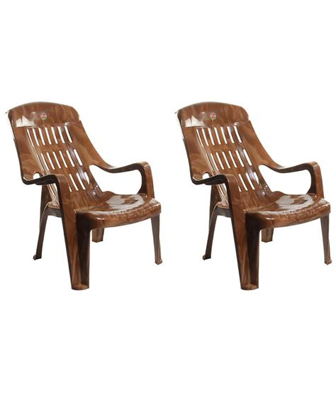 Sitting Chair Price Cello Comfort Sit Back Plastic Chair Set Of 2 Buy