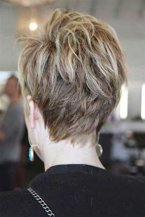 how to cut back of pixie haircut with electric razor 15 back of pixie cuts pixie cut 2015