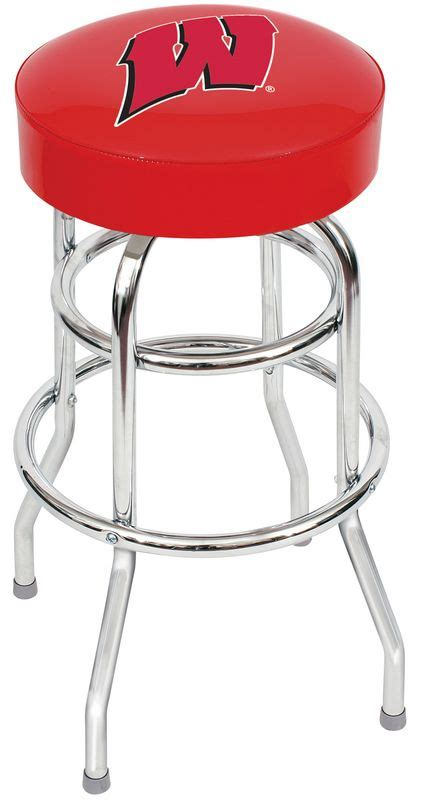 Wisconsin Badger Bar Stools by Of Wisconsin Badgers Bar Stool Of