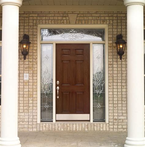 Front Door With Sidelights And Transom Front Door With Transom And Sidelights Entry Way Front Doors And Doors