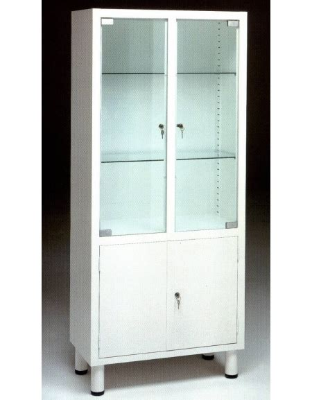 armadio medicinali armadio vetrina per medicinali e strumenti a quattro