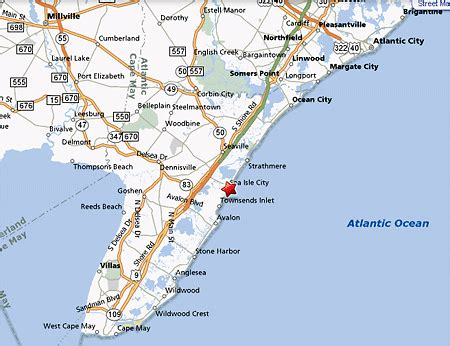 jersey shore map homes for sale in sea isle city nj real estate at the new jersey shore and sea isle city