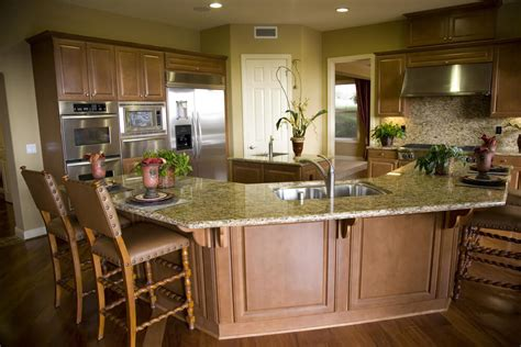 kitchen island com 39 fabulous eat in custom kitchen designs