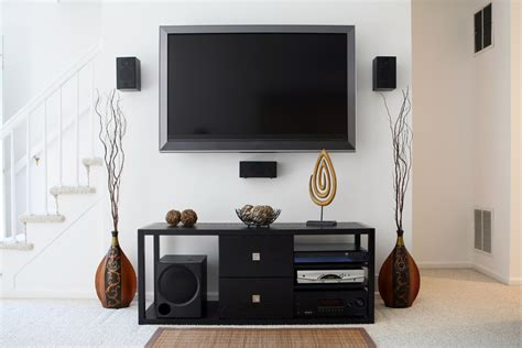 how to set up a home theater in your apartment home