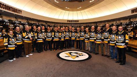 penguins in the room pens 91 92 cup teams reunite nhl