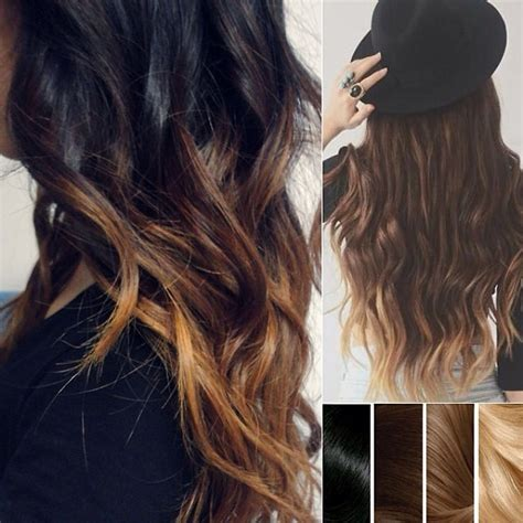 ombre bunette blonde brunette on bottom top 2 celebrity sombr 233 hair colors 2014 spring dark brown
