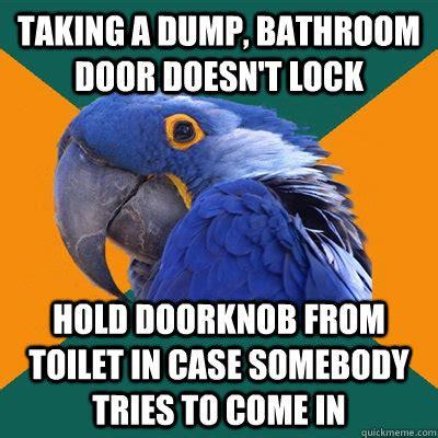 Meme Dump - bathroom door locks memes