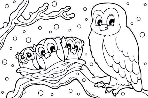 Index Of Wp Content Uploads 2016 11 Snow Owl Coloring