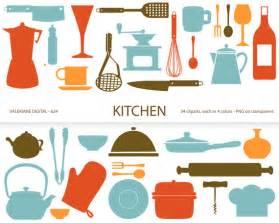 kitchen clipart s retro kitchen utensils scrapbook