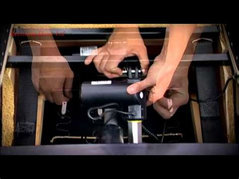 how to fix lazy boy recliner dual motor riser recliner changing the motor youtube