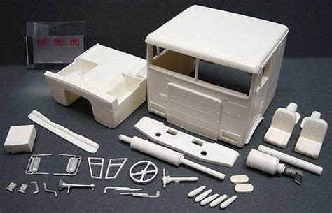 commercial vehicle model kits resin marmon 86 quot cab over engine conversion kit http