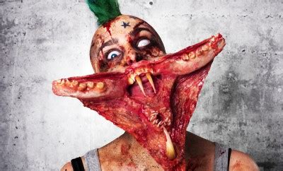 zombie sfx tutorial arachnophobia special fx makeup tutorial by ellimacs